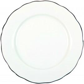 [265mm] Assiette plate - Colbert Platine