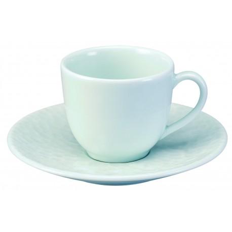 Tasse et soucoupe café