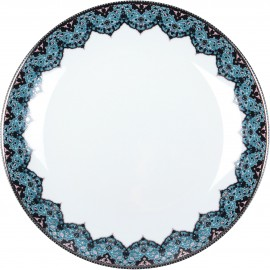[210mm] Assiette creuse calotte Dhara bleu
