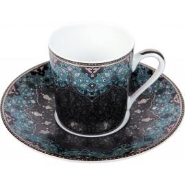 [8cl] Tasse café - Dhara bleu