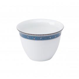 [6cl] Tasse médine GM et sa soucoupe - Dhara bleu