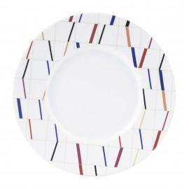 [280mm] Assiette Plate - Graphique