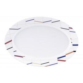 [400x275 mm] Plat ovale - Graphique