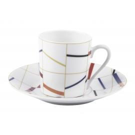 [8cl] Tasse café et sa soucoupe - Graphique