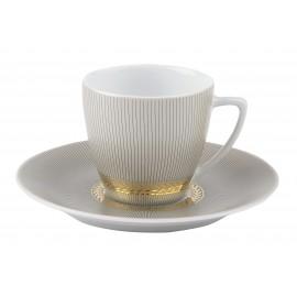 [8cl] Tasse café et sa soucoupe - Pharaon