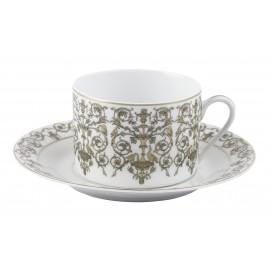 [16cl] Tasse thé et sa soucoupe - Tuileries