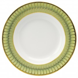 [265mm] Assiette plate - Arcades vert