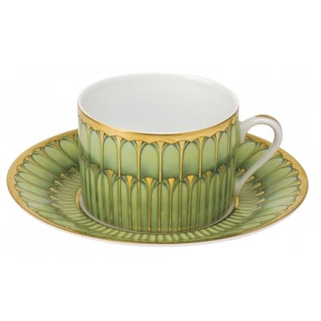 [16cl] Tasse thé - Arcades vert