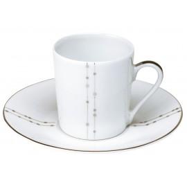 [8cl] Tasse café et sa soucoupe - Carrousel