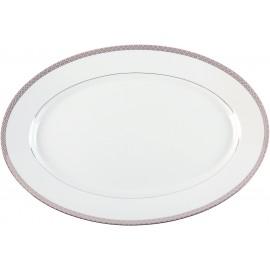 [400x270mm] Plat ovale - Parure