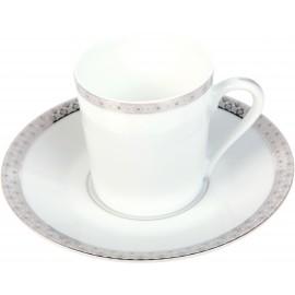 [8cl] Tasse café et sa soucoupe - Parure