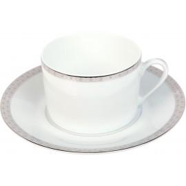 [16cl] Tasse thé et sa soucoupe - Parure