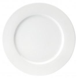 [280mm] Assiette Plate - Seychelles Blanc
