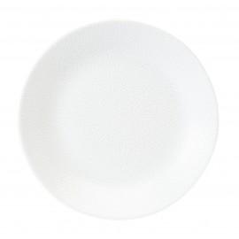 [160mm] Assiette à pain - Seychelles Blanc