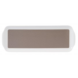 [400x145 mm] Plat à cake - Seychelles blanc