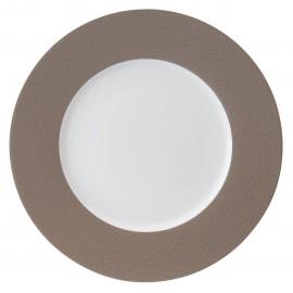 [240mm] Assiette dessert - Seychelles blanc