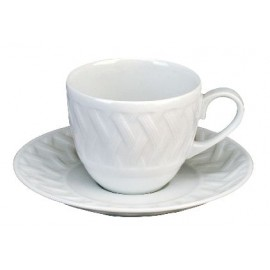 [16cl] Tasse café Europe et sa soucoupe - Louisiane