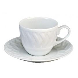 [16cl] Tasse café Europe et sa soucoupe - Louisiane