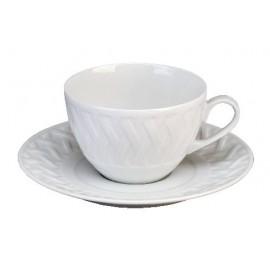 [17cl] Tasse thé et sa soucoupe - Louisiane
