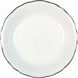 [190mm] Assiette creuse calotte - Colbert Platine