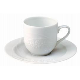 [12.5 cl] Tasse café et sa soucoupe - Promenade