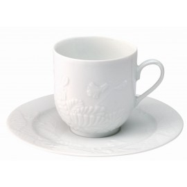 [20cl] Tasse café Europe et sa soucoupe - Promenade