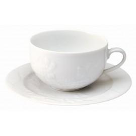 [23cl] Tasse thé et sa soucoupe - Promenade