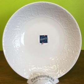 [215mm] Assiette creuse coupe - Coquette