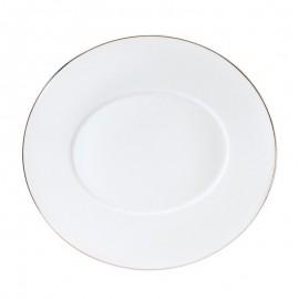 [250x235 mm] Assiette dessert - Épure platine