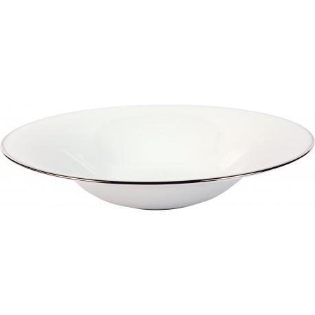 [210mm] Assiette creuse calotte - Épure platine