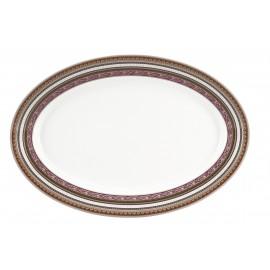 [400x275 mm] Plat ovale - Ispahan