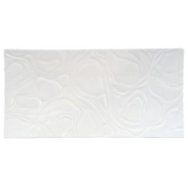 [300x150 mm] Plateau rectangulaire blanc - Ardoise