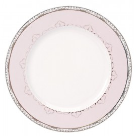 [265mm] Assiette plate - Margot Rose