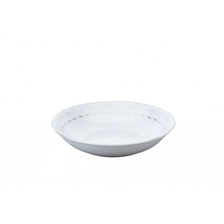 [190mm] Assiette creuse calotte - Margot rose