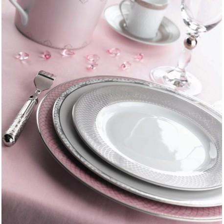 [265mm] Assiette plate - Margot Rose
