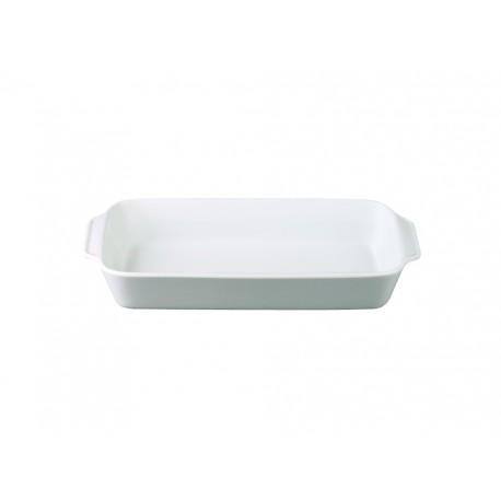 [330x175mm] Plat à rôtir rectangulaire n°955-2 - Culinaire Blanc