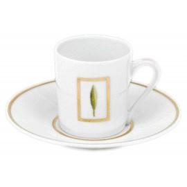 [8cl] Tasse café et sa soucoupe - Toscane