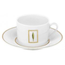 [16cl] Tasse thé et sa soucoupe - Toscane