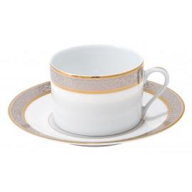 [16cl] Tasse thé et sa soucoupe - Orléans