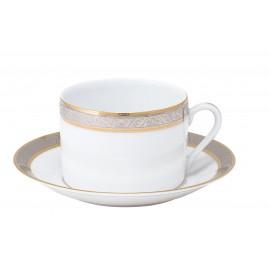 [30cl] Tasse déjeuner et sa soucoupe - Orléans