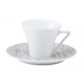 [10cl] Tasse café et sa soucoupe - Cyclades