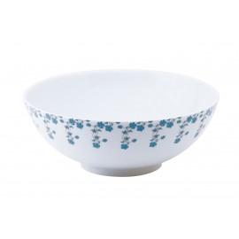 [250cl] Saladier - Fleurs bleues