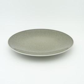 [215mm] Assiette dessert coupe - Particules gris