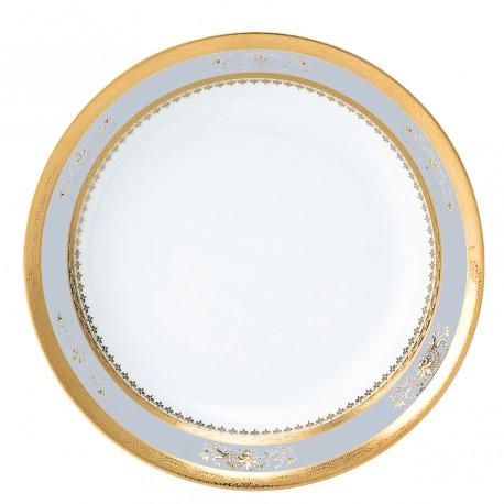 [190mm] Assiette creuse calotte - Orsay Blanc