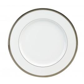 [265mm] Assiette plate - Versaille platine