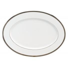 [400x295 mm] Plat ovale à aile - Versaille platine