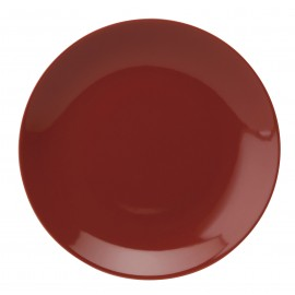 [265mm] Assiette plate - Colorama Rouge
