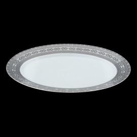 [400x275 mm] Plat ovale - Fleur de Nuit