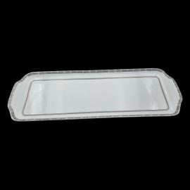 [400x145 mm] Plat à cake - Fleur de Nuit