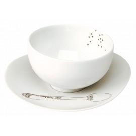 Tasse thé et sa soucoupe (sans anse)